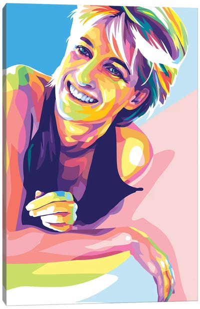 Princess Diana Canvas Art Print