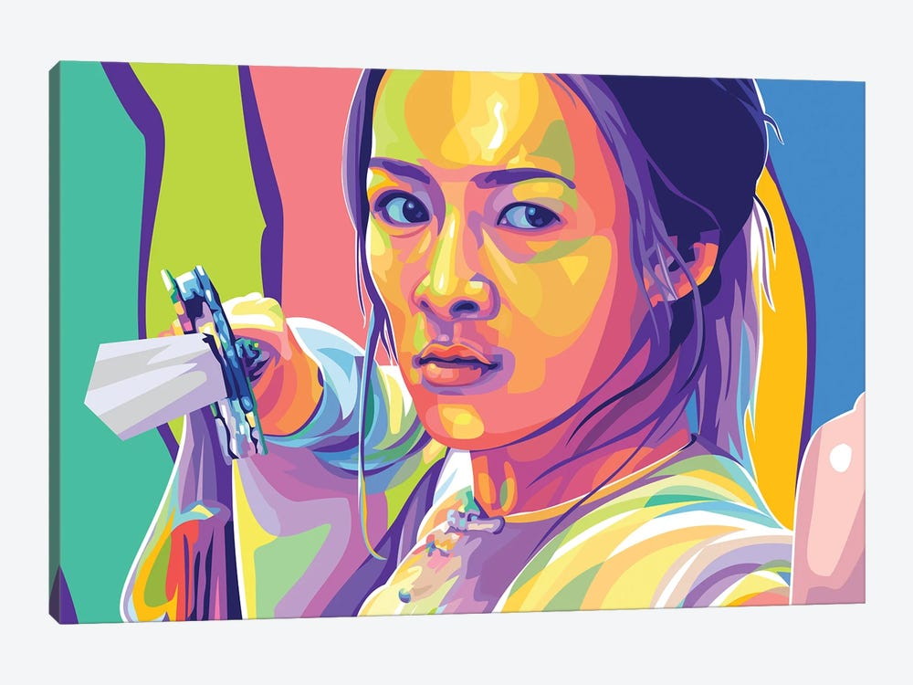 Zhang Ziyi Crouching Tiger, Hidden Dragon by Dayat Banggai 1-piece Art Print