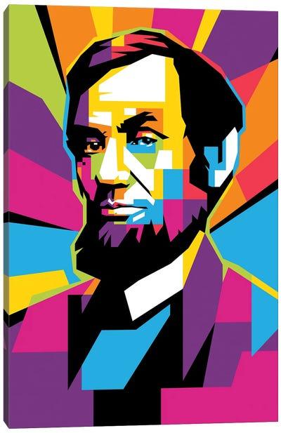 Abe Canvas Art Print