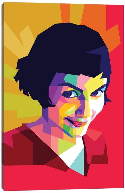 Amelie Canvas Art Print
