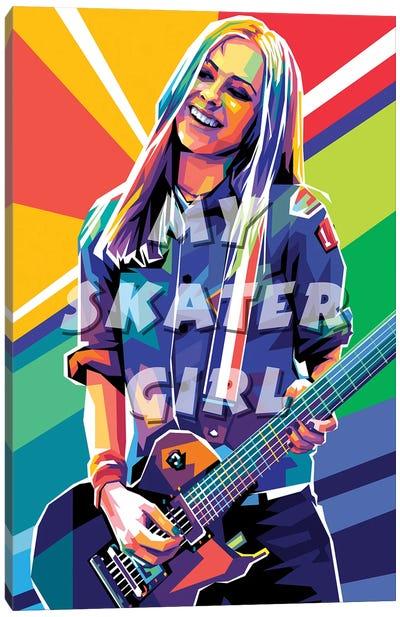Avril Lavigne My Skater Girl Canvas Art Print