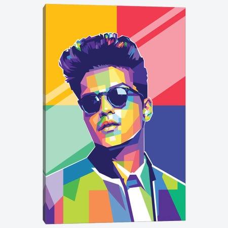 Bruno Mars Canvas Print #DYB138} by Dayat Banggai Canvas Print