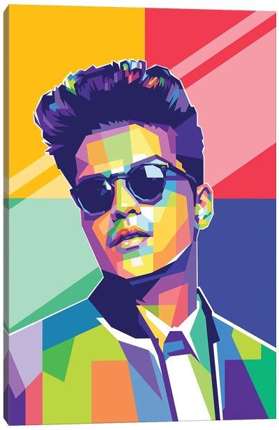 Bruno Mars Canvas Art Print