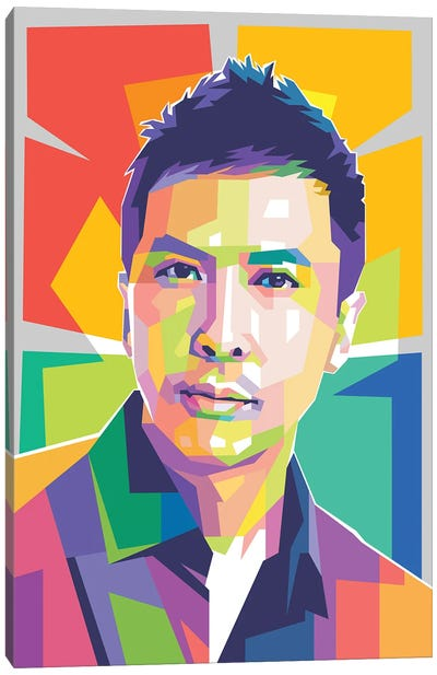 Donnie Yen Canvas Art Print