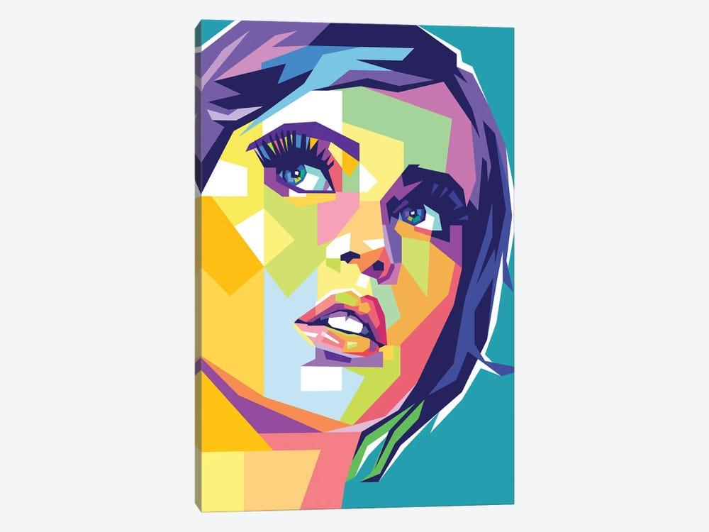 Felicity Jones by Dayat Banggai 1-piece Canvas Print