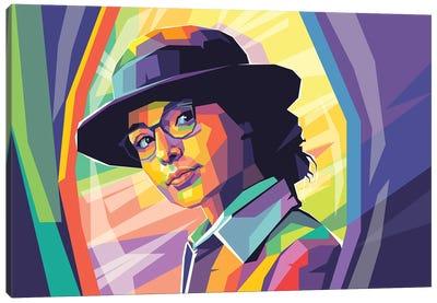 Gal Gadot Canvas Art Print
