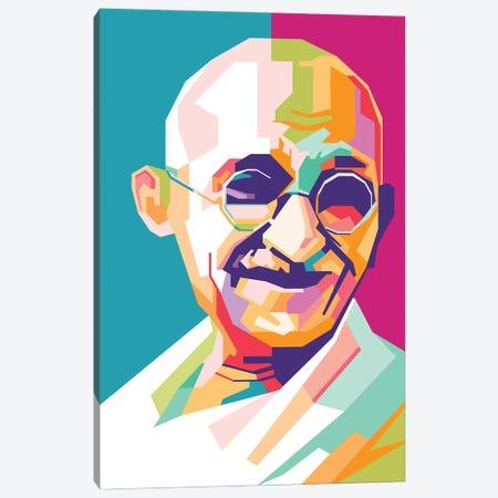 Mahatma Gandhi Canvas Print #DYB146} by Dayat Banggai Canvas Art Print