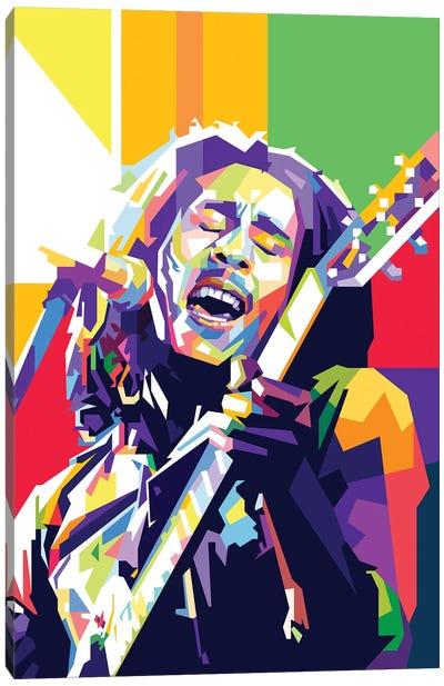 Bob Marley II Canvas Art Print