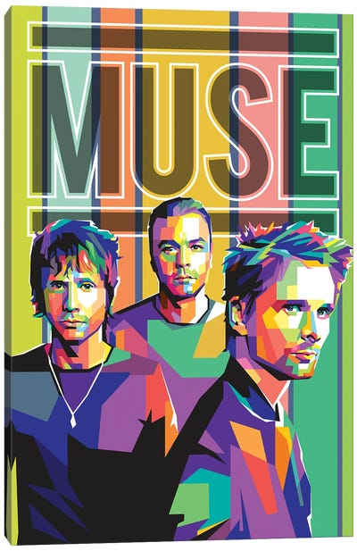 Muse Canvas Art Print