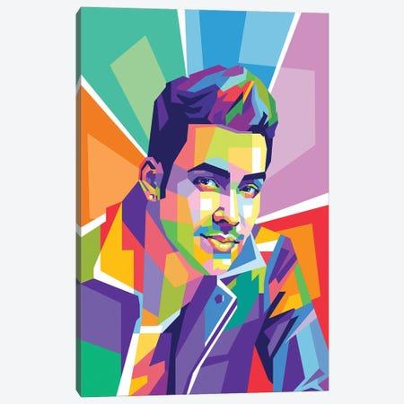 Prince Royce Canvas Print #DYB152} by Dayat Banggai Canvas Print