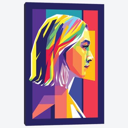 Lady Bird Saoirse Ronan Canvas Print #DYB155} by Dayat Banggai Canvas Art