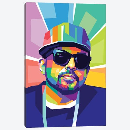 Sean Paul Canvas Print #DYB156} by Dayat Banggai Canvas Artwork