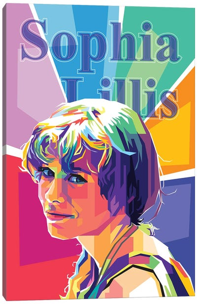 Sophia Lillis Canvas Art Print