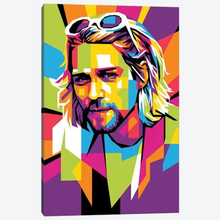 Kurt Cobain II Canvas Print #DYB162} by Dayat Banggai Canvas Artwork