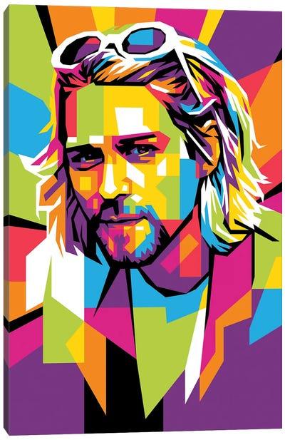 Kurt Cobain II Canvas Art Print