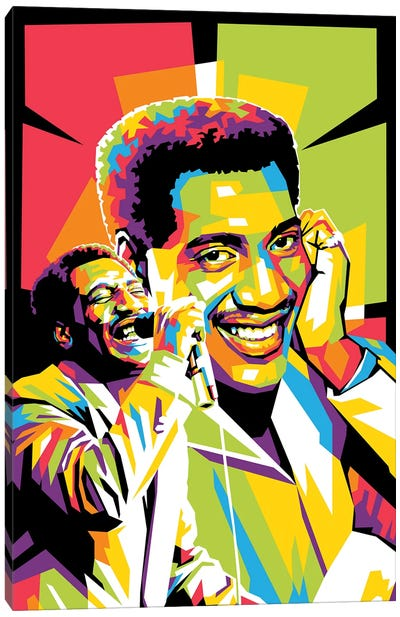 Otis Redding III Canvas Art Print