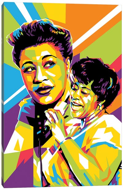 Ella Fitzgerald III Canvas Art Print