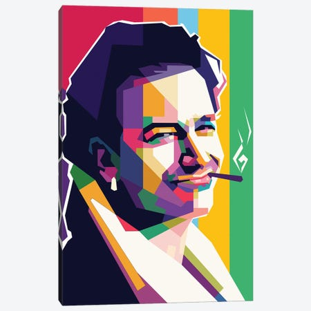 Bono Canvas Print #DYB16} by Dayat Banggai Canvas Art