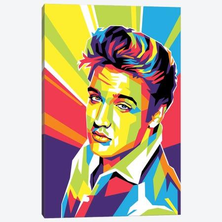 This is Elvis Presley Canvas Print #DYB172} by Dayat Banggai Art Print