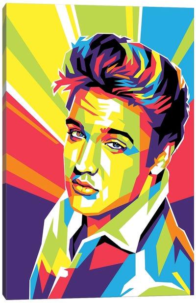 This is Elvis Presley Canvas Art Print