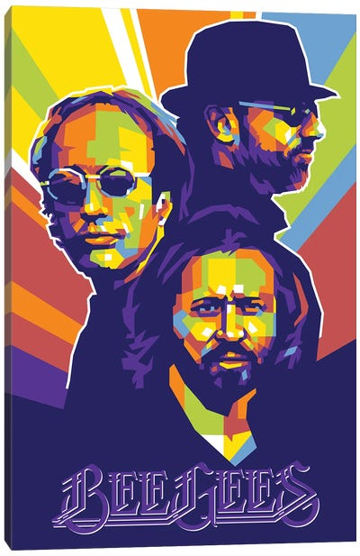 The Bee Gees Canvas Art Print