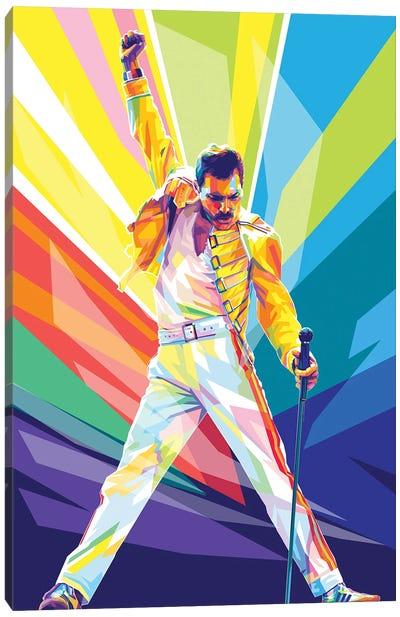 Yeah Freddie..!! Canvas Art Print