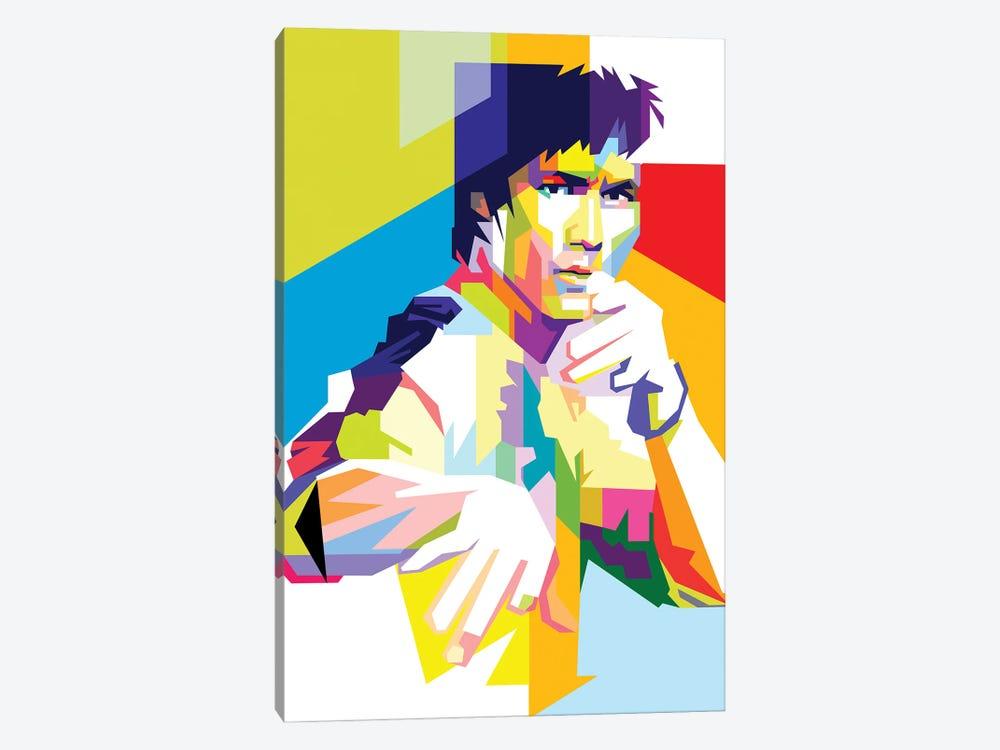 Bruce Lee II by Dayat Banggai 1-piece Canvas Wall Art