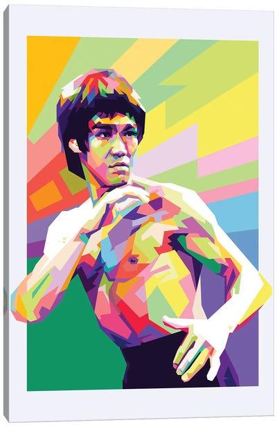 Bruce Lee III Canvas Art Print