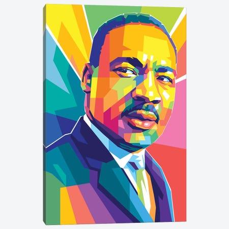 Martin Luther King JR III Canvas Print #DYB200} by Dayat Banggai Canvas Print