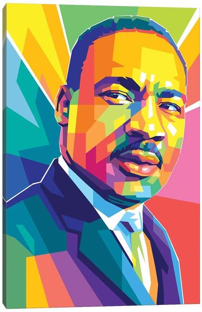 Martin Luther King JR III Canvas Art Print