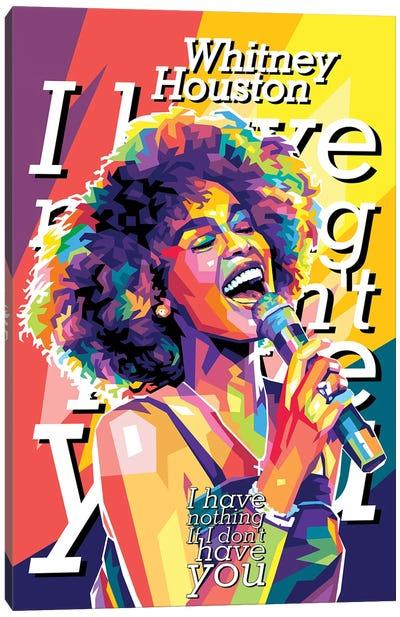 Whitney Houston I Have Nothing Canvas Art Print