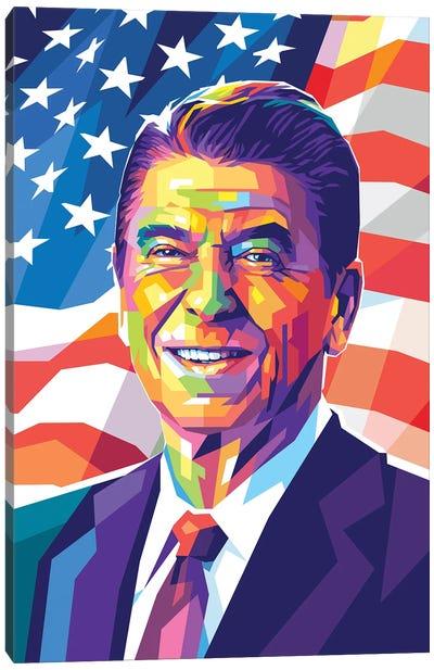 Ronald Reagan Canvas Art Print