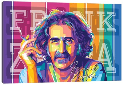 Frank Zappa Canvas Art Print
