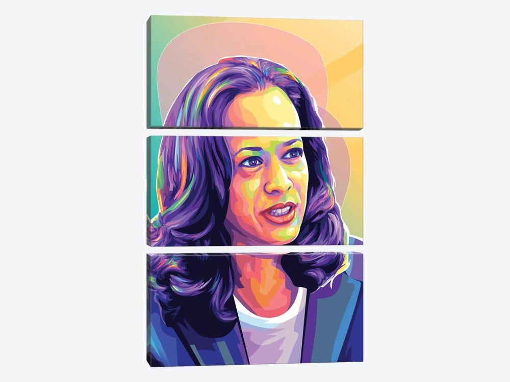 Kamala Harris II by Dayat Banggai 3-piece Art Print
