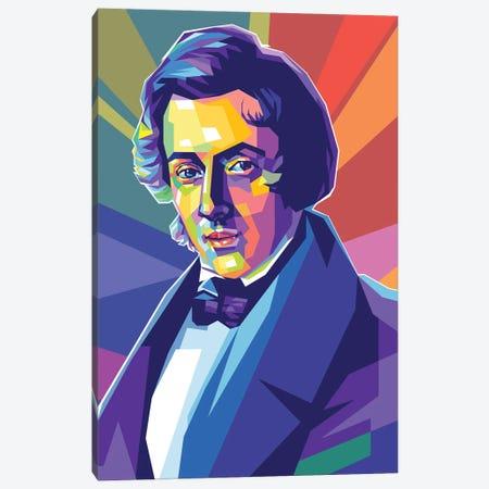 Frédéric Chopin Canvas Print #DYB226} by Dayat Banggai Canvas Wall Art