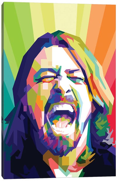 Dave Grohl I Canvas Art Print