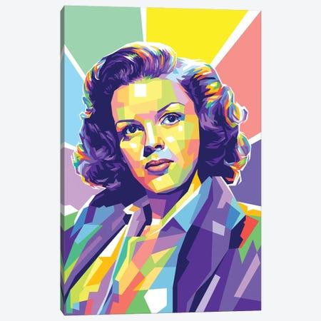 Judy Garland Canvas Print #DYB240} by Dayat Banggai Canvas Art Print