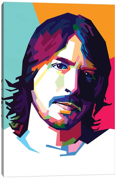 Dave Grohl II Canvas Art Print