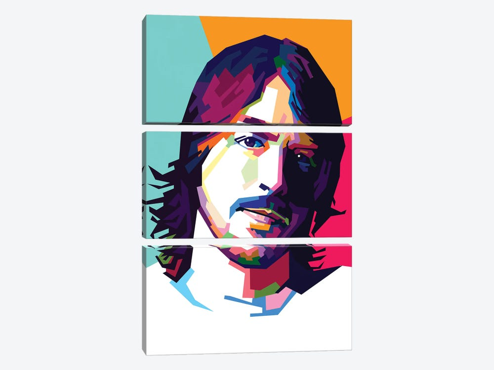 Dave Grohl II by Dayat Banggai 3-piece Canvas Art Print