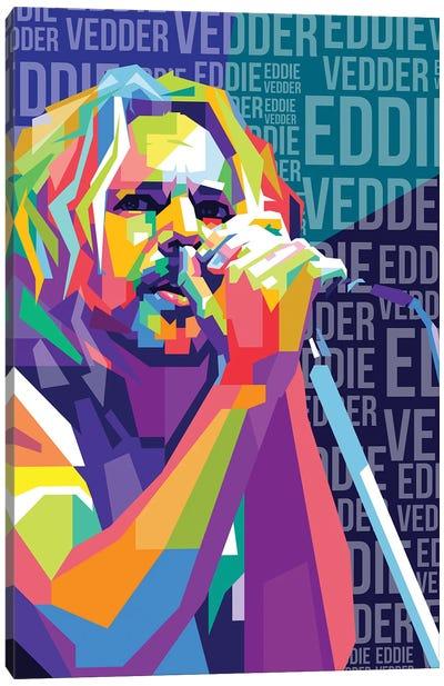 Eddie Vedder - Pearl Jam Canvas Art Print