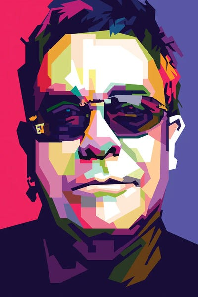 Elton John Canvas Art Print