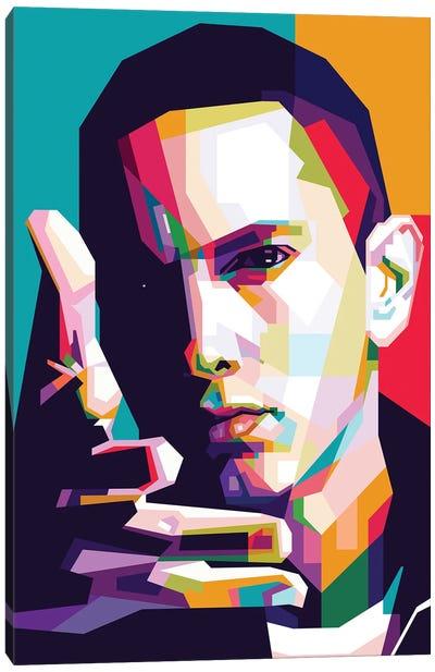 Eminem Canvas Art Print
