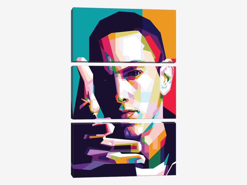 Eminem by Dayat Banggai 3-piece Canvas Wall Art