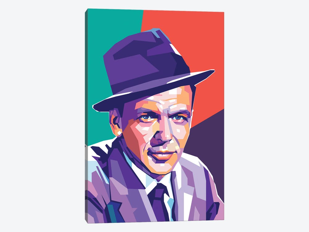 Frank Sinatra by Dayat Banggai 1-piece Canvas Art