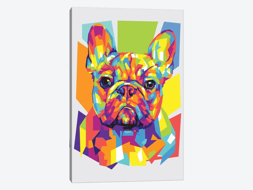 French Bulldog by Dayat Banggai 1-piece Canvas Wall Art