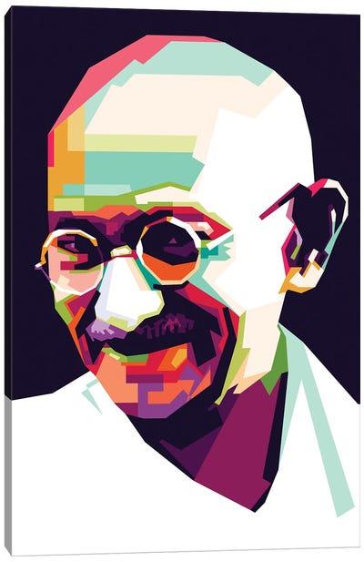 Gandhi Canvas Art Print