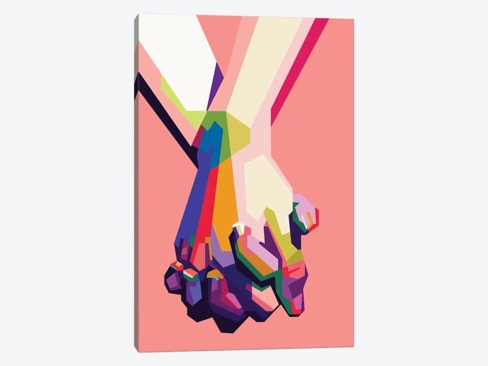 Hold My Hand by Dayat Banggai 1-piece Canvas Art Print