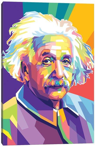 Albert Einstein Canvas Art Print