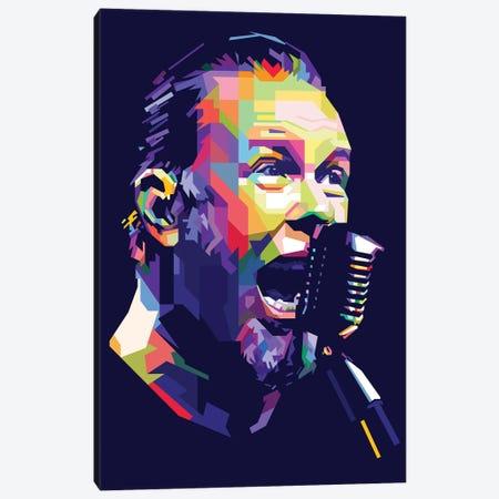 James Hetfield Canvas Print #DYB40} by Dayat Banggai Canvas Artwork