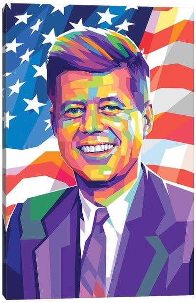 John Fitzgerald Kennedy Canvas Art Print